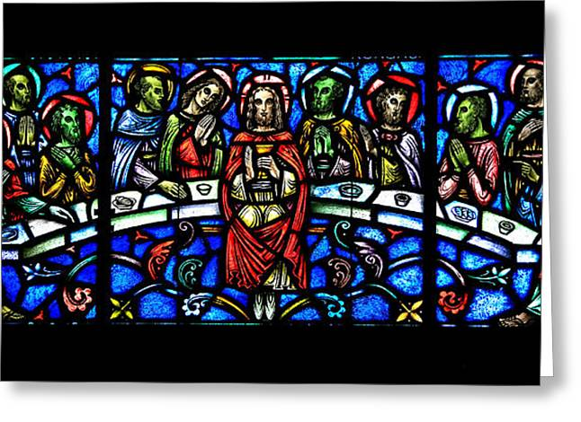 The Last Supper Greeting Card by Stephen Stookey