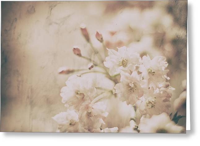 Textured Floral Greeting Cards - The Lasting Perfume Greeting Card by Robin Konarz
