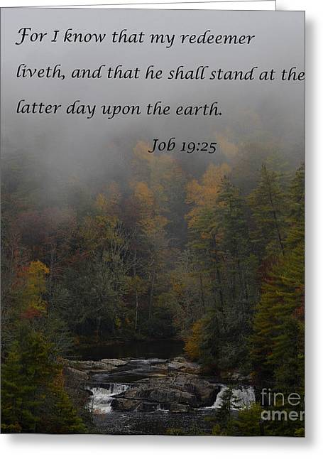 Dwell Greeting Cards - The Latter Day Greeting Card by Debra Johnson