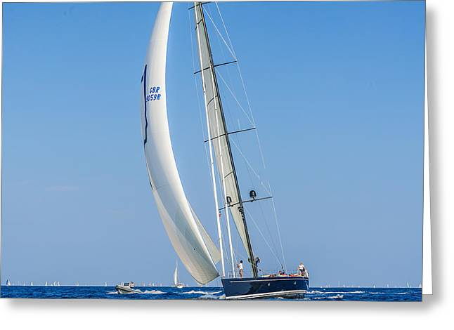 St.tropez Greeting Cards - the Leader Greeting Card by Christian Baumgart