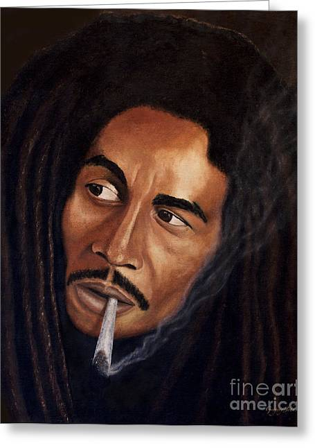 John Marley Greeting Cards - The Legend Cover Greeting Card by Gregory John