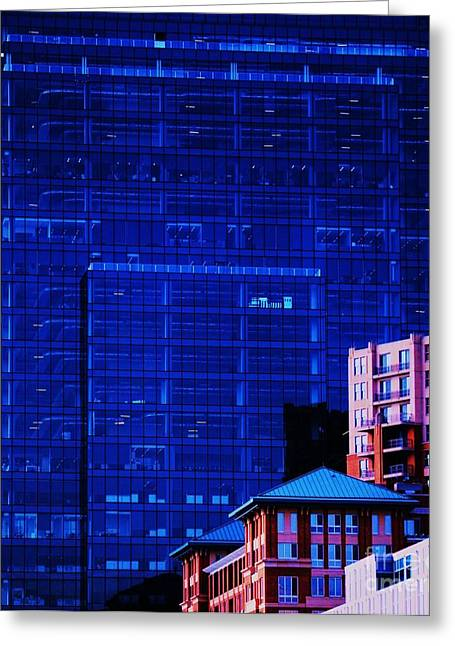 Counterpoint Greeting Cards - The Legg Mason Building Greeting Card by Marcus Dagan