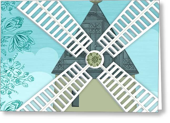 The Letter X Greeting Card by Valerie Drake Lesiak