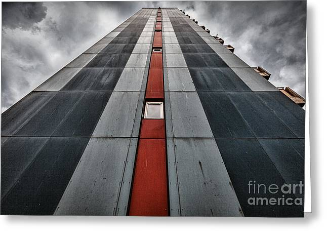 High Rise Greeting Cards - The Leviathan Greeting Card by John Farnan