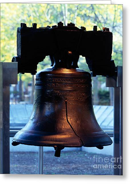 Liberty Bell Greeting Cards - The Liberty Bell Greeting Card by Rafael Macia