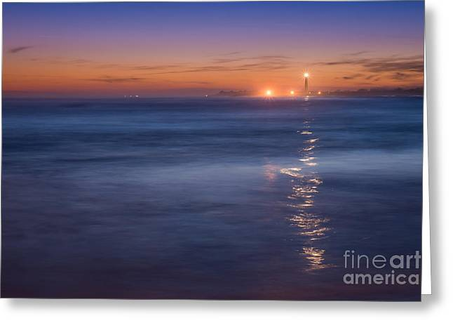 The Light Will Guide You Greeting Card by Michael Ver Sprill