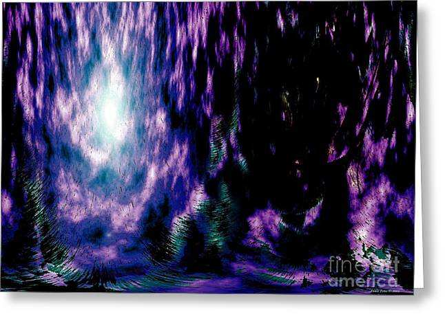 Inner Self Greeting Cards - The Light Within Greeting Card by Annie Zeno