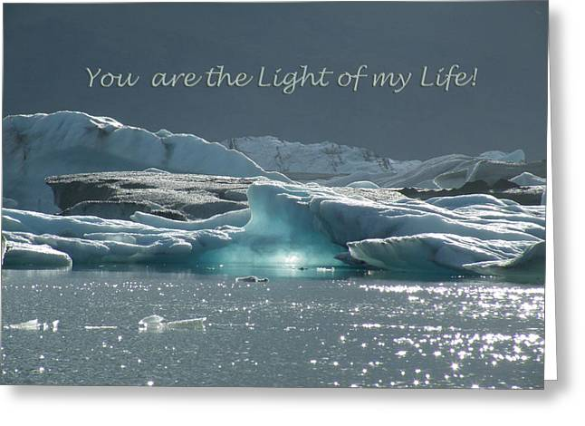 Occasion Greeting Cards - The Light Within Greeting Card by Moelyn Photos
