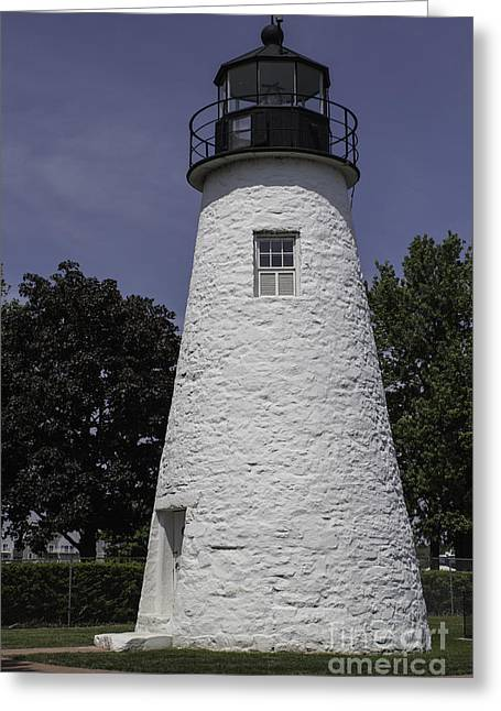 Concord Greeting Cards - The Lighthouse at Concord Point Greeting Card by Arlene Carmel