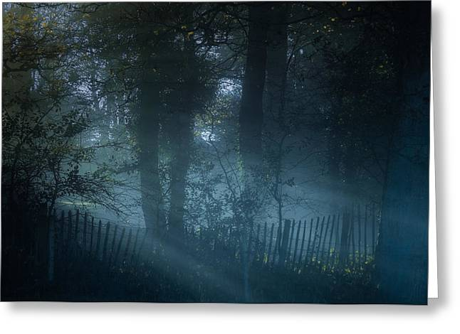 Clinton Greeting Cards - The lingering mist Greeting Card by Chris Fletcher