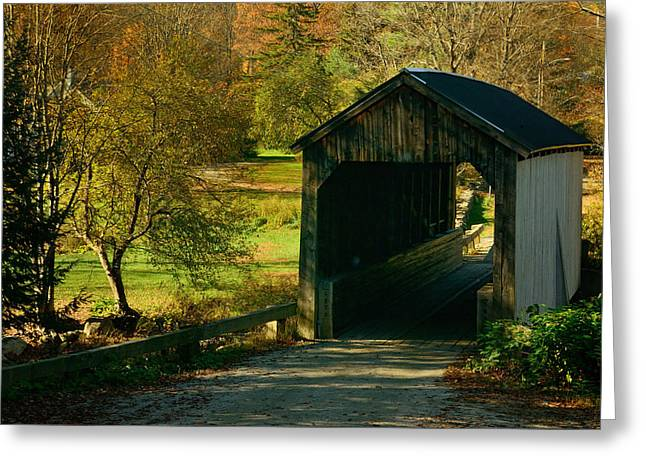 Grafton Vermont Greeting Cards - The Little Gem Greeting Card by Don Dennis