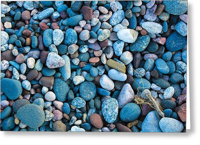 Agate Beach Greeting Cards - The little things....... Greeting Card by Lee and Michael Beek