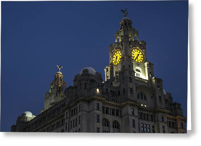 Liver Greeting Cards - The Liver Building Greeting Card by Paul Madden