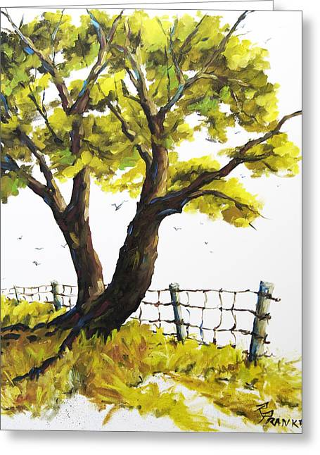 étoiles Greeting Cards - The Living Tree by Prankearts Greeting Card by Richard T Pranke