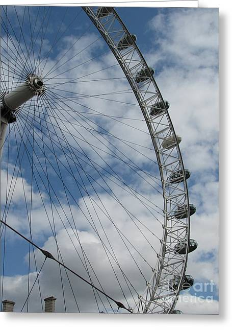 The London Eye Greeting Card by Zori Minkova