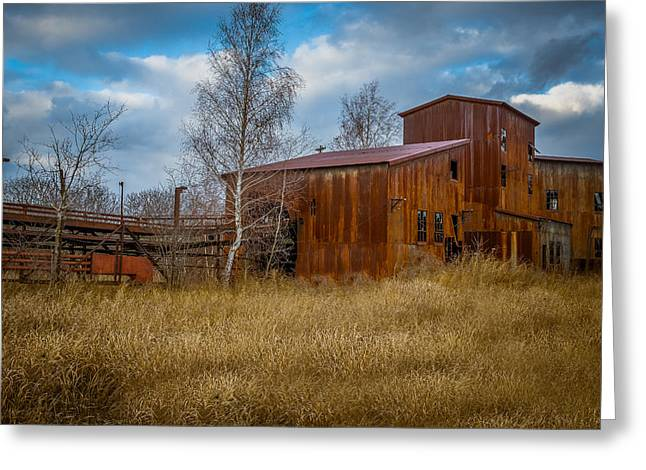 Tin Roof Greeting Cards - The Lonesome Place N1 Greeting Card by Chris Bordeleau