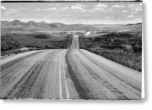 Power Plant Framed Prints Greeting Cards - The long and lonely road Greeting Card by John McArthur