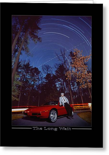 Show Print Greeting Cards - The Long Wait Greeting Card by Mike McGlothlen
