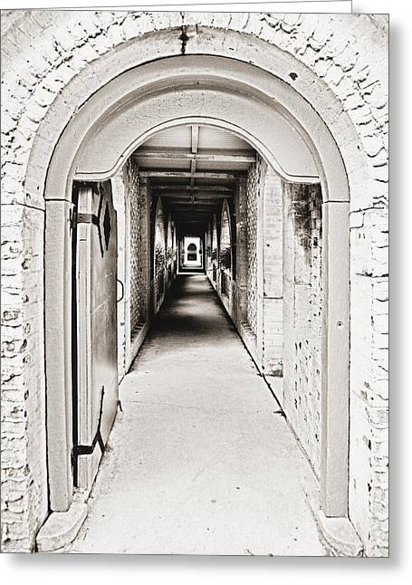 Entryway Greeting Cards - The Long Welcome 2 Greeting Card by Marilyn Hunt