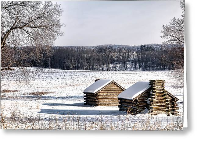 The Long Winter Greeting Card by Olivier Le Queinec