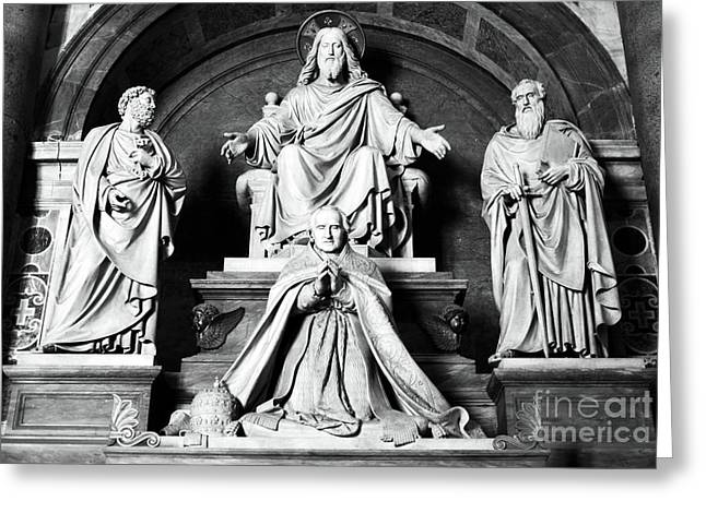 Peter Art Prints Posters Gallery Greeting Cards - The Lord Greeting Card by John Rizzuto