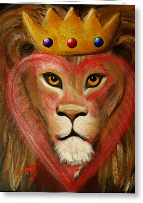 King Of Judah Greeting Cards - The LORD Of My Heart Greeting Card by Pamorama Jones