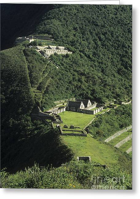 James Brunker Greeting Cards - The Lost City of Choquequirao Greeting Card by James Brunker