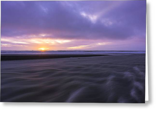 California Beach Greeting Cards - The Lost Coast Greeting Card by Dustin  LeFevre