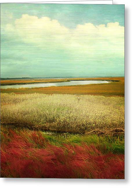Kiawa Island Greeting Cards - The Low Country Greeting Card by Amy Tyler