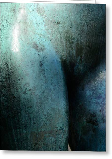 Center City Mixed Media Greeting Cards - The lower part of naked woman Greeting Card by Toppart Sweden