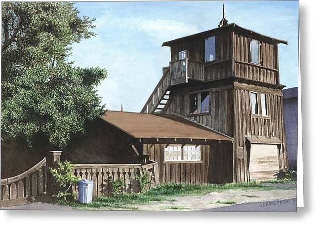 Capitola Greeting Cards - The Lund House Greeting Card by James Robertson