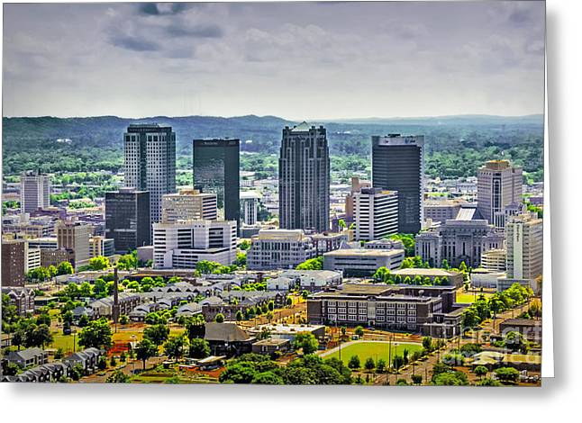 Sec Conference Greeting Cards - The Magic City Greeting Card by Ken Johnson