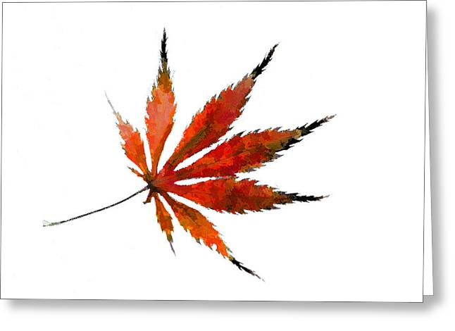 Impressionist Greeting Cards - The Magical Colors of Fall Greeting Card by Kathy Clark