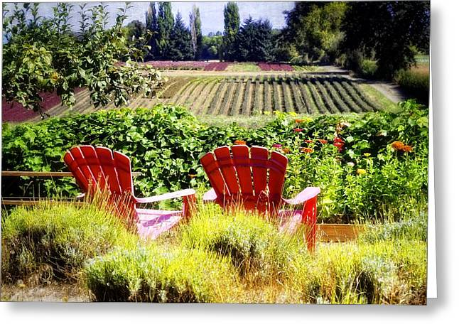 Sauvie Island Greeting Cards - The Magical Garden Greeting Card by Image Takers Photography LLC - Carol Haddon