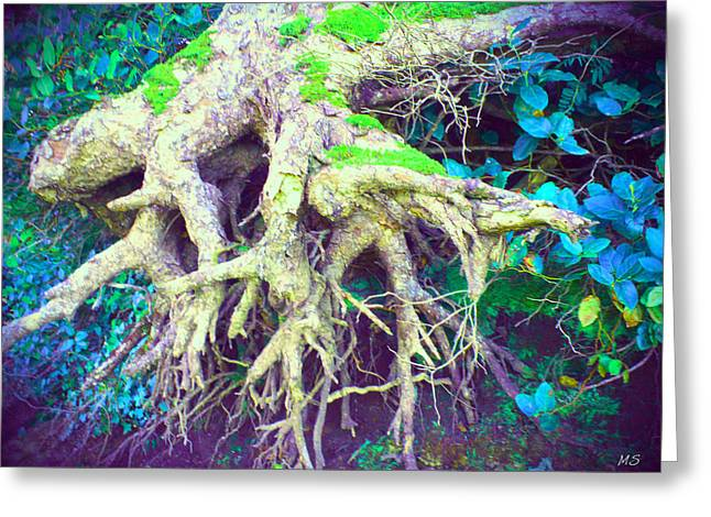 """""""strange Trees"""" Greeting Cards - The Magical Hobbit Tree Greeting Card by Absinthe Art By Michelle LeAnn Scott"""