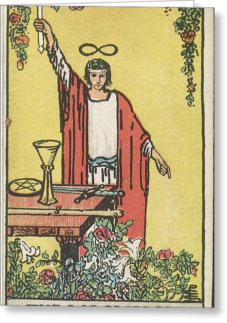 The Magician Greeting Card by British Library