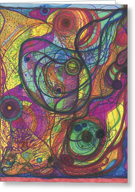 The Magnificence Of God Greeting Card by Daina White