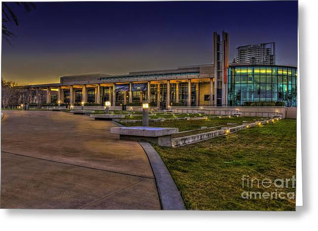 St. Petersburg Florida Greeting Cards - The Mahaffey Theater Greeting Card by Marvin Spates
