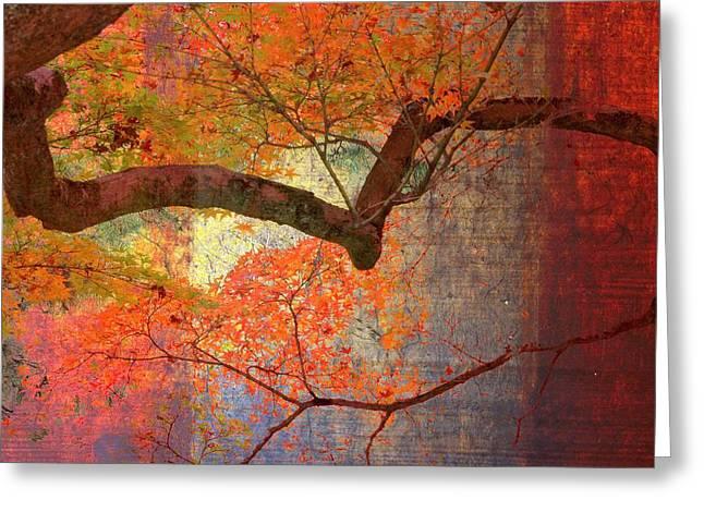 Kyoto Digital Art Greeting Cards - The Majesty of Kyoto Greeting Card by Karen Jensen