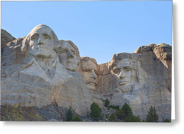 Borglum Greeting Cards - The Majesty of Mount Rushmore Greeting Card by John Bailey