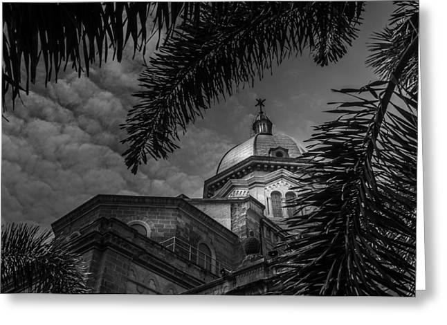 Asien Greeting Cards - The Manila Metropolitan Cathedral-Basilica - Philippines Greeting Card by Colin Utz