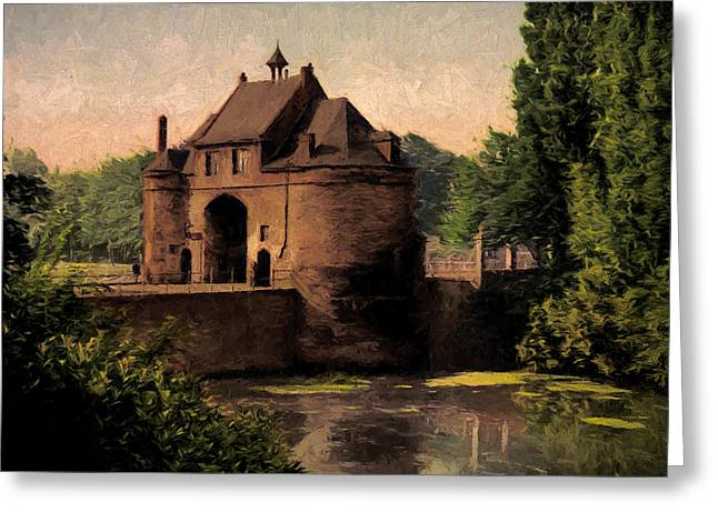 Marechal Greeting Cards - The Marechal Gate Greeting Card by John K Woodruff