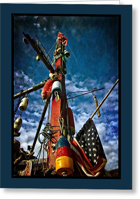 Americana Greeting Cards - Patriotic Greeting Card by Thom Zehrfeld