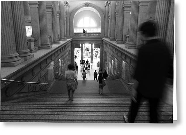 New York The Metropolitan Museum Of Art Greeting Cards - The Met Greeting Card by Jordan Kirschner