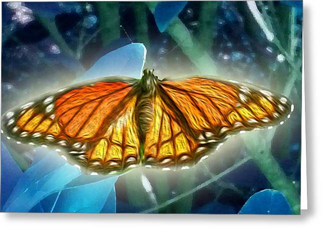 De Wine And Cheese Greeting Cards - The Metamorphosis Greeting Card by Jimi Bush