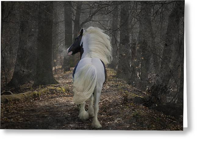 Gypsy Greeting Cards - The Midnight Cry II Greeting Card by Terry Kirkland Cook