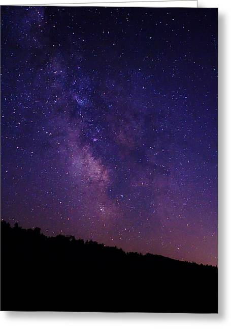 Decor Photography Greeting Cards - The Milky Way Greeting Card by Stephanie McDowell