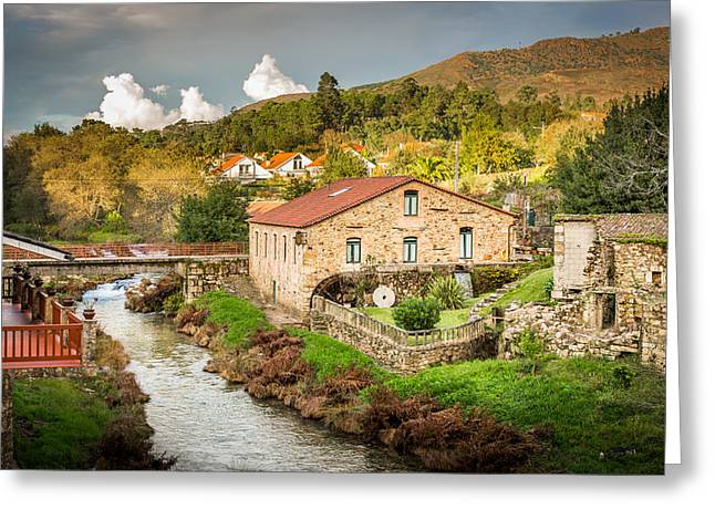 Flour Greeting Cards - The Mill By The River Greeting Card by Gary Gillette