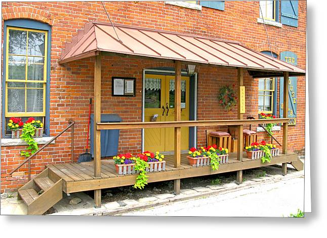 The Mill House Bed And Breakfast In Grand Rapids Ohio 3528 Greeting Card by Jack Schultz