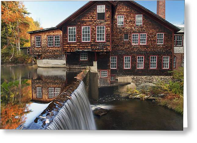 The Mills Greeting Card by Eric Gendron